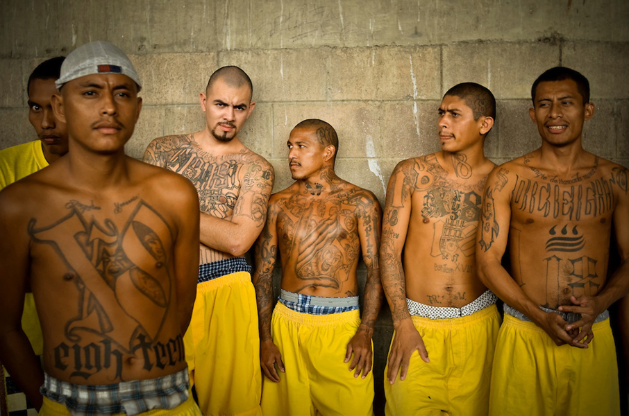 El salvador has just created the world 39 s most dangerous prison thug life videos - Gang gang ...