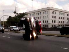 Drifting Cop Car