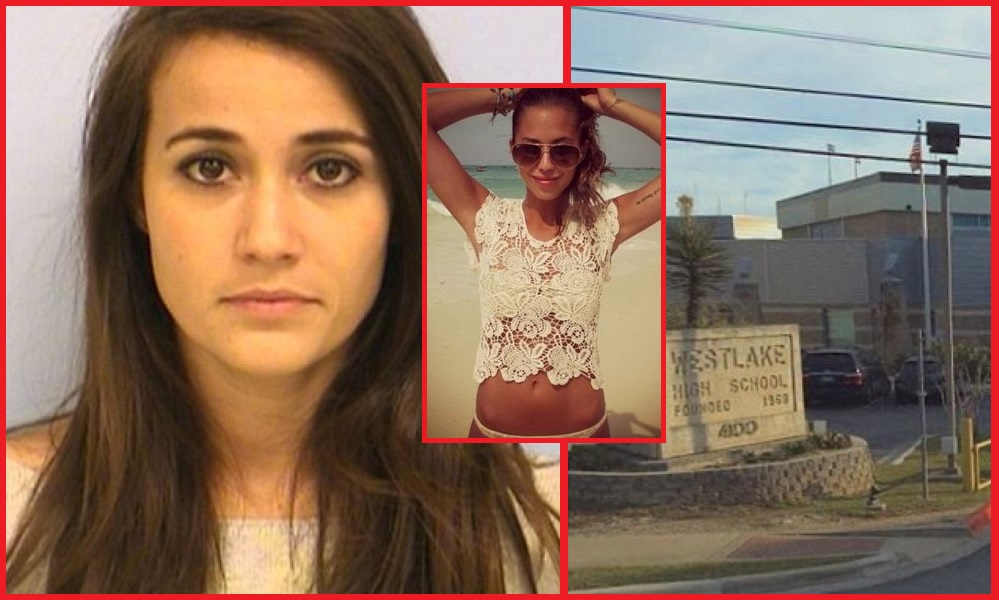 Bikini pictures team teacher arrested