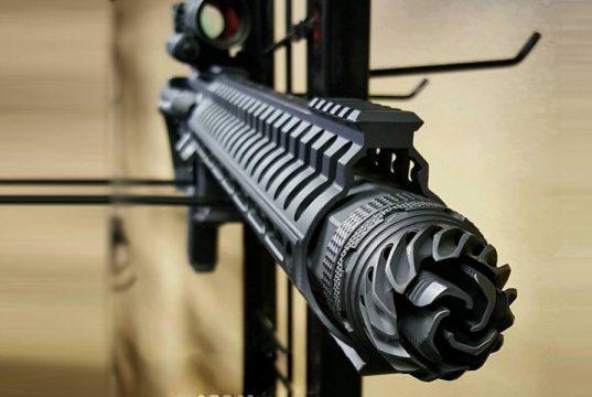 OSS Baffle Free Suppressor