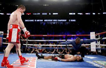 Alvarez Vs Khan Full Fight