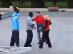 Man Defends Girlfriend