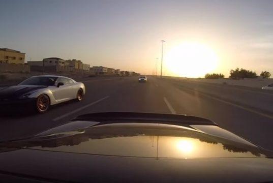 Nissan GTR Vs. Corvette C6 Z06 (2)