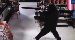 grocery store shootout