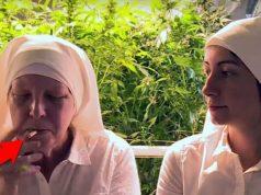 Nuns Smoking Weed