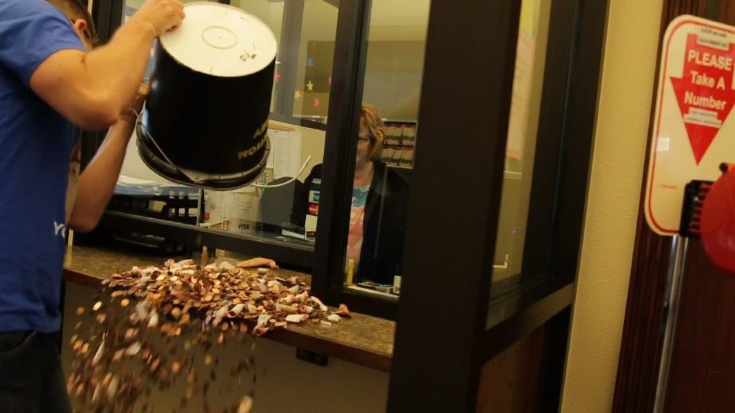 Speeding Ticket Pennies