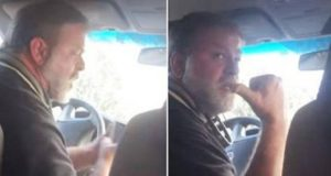 Angry Uber Driver