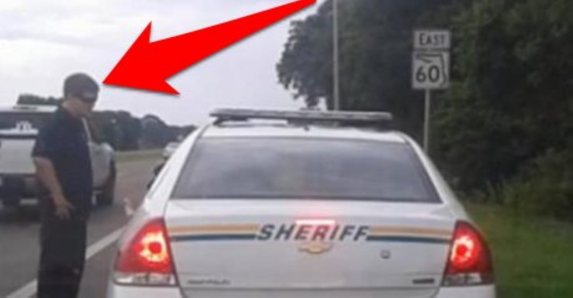 Pulls Over Cop