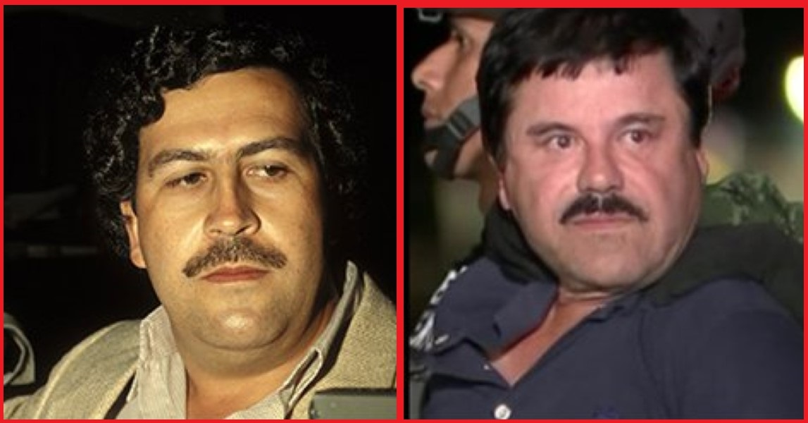 Pablo Escobar Vs Chapo >> Pablo Escobar Vs. El Chapo: Who's The Biggest Drugs Magnate... Who Wins? - Thug Life Videos