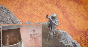 volcano-selfie