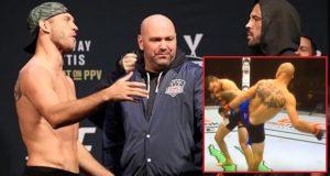 Donald Cerrone knocks out Matt Brown at UFC 206