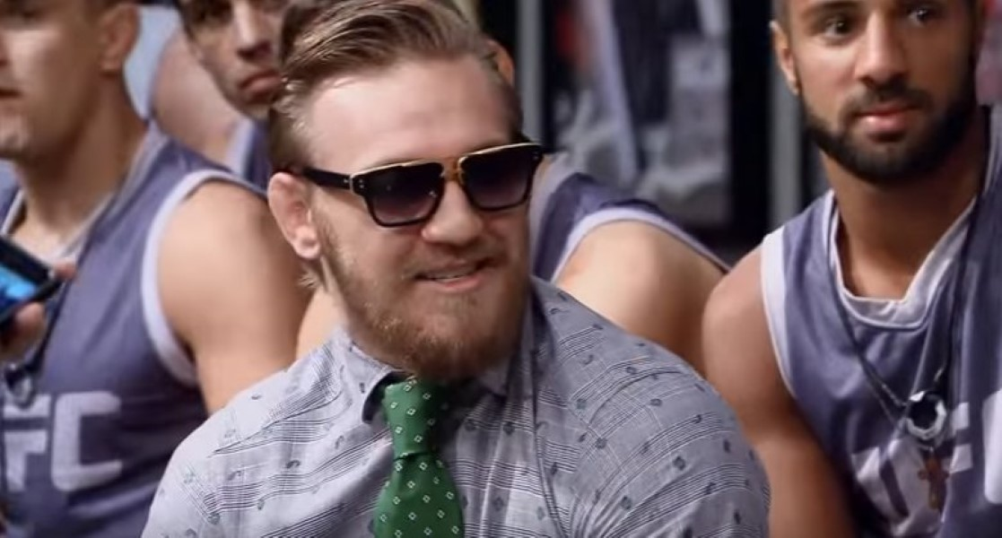 Conor McGregor and Cody Garbrandt (1)