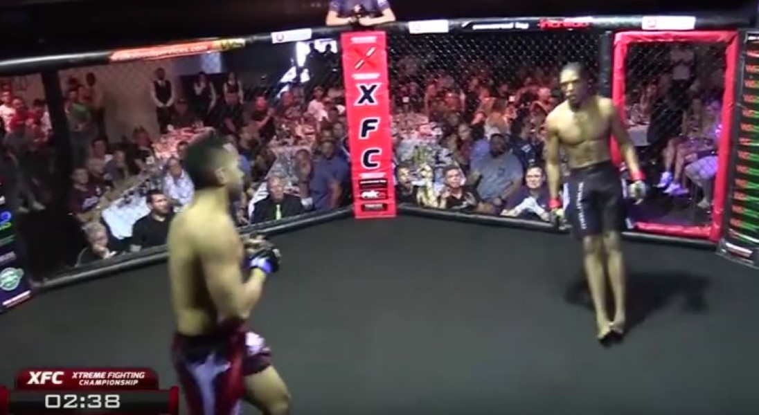 MMA Fighter Collapses
