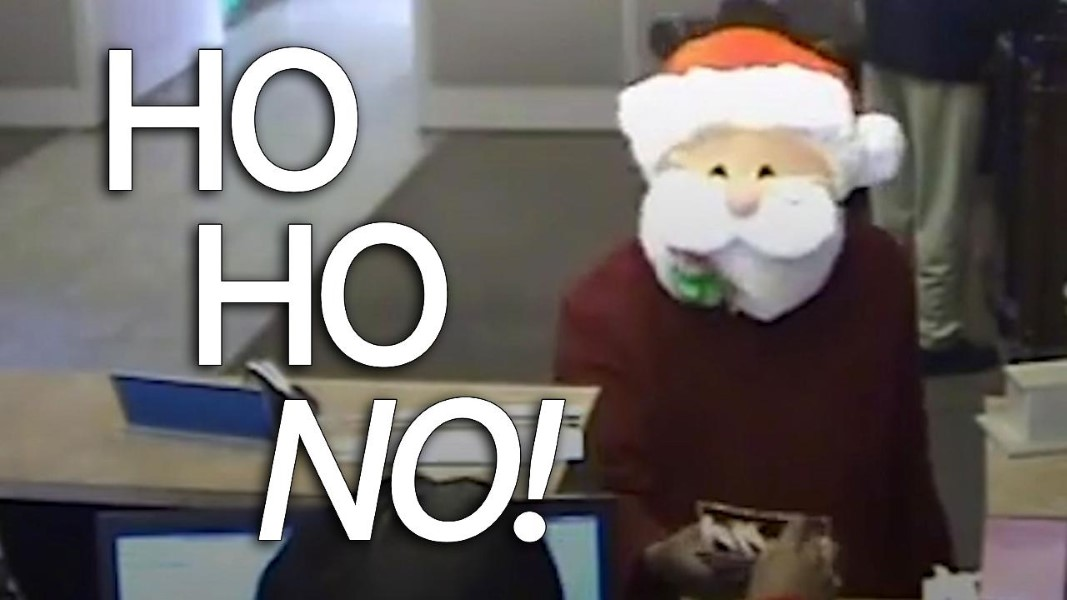 Santa Bank Robber