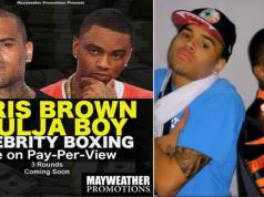 Chris Brown Soulja Boy Boxing