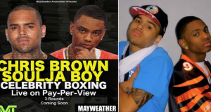 Chris Brown Soulja Boy Boxing