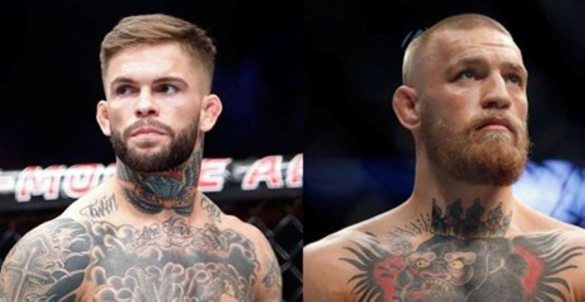 GARBRANDT WANTS MCGREGOR