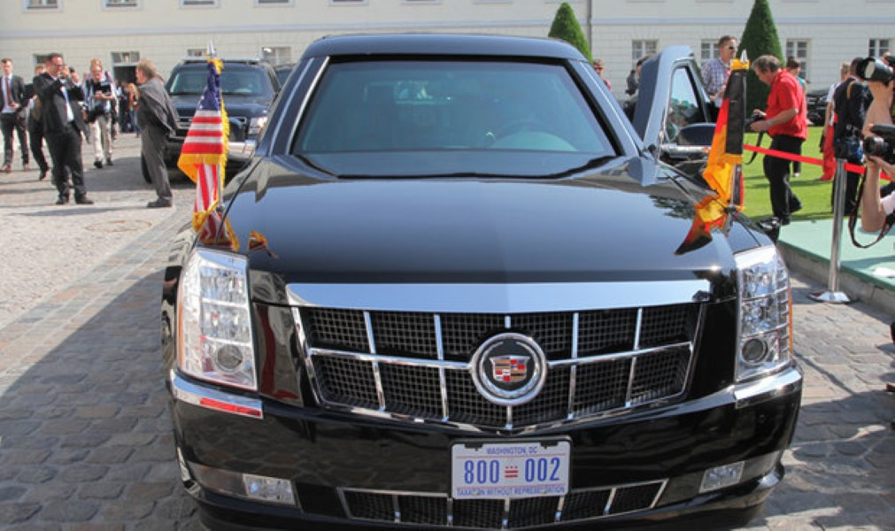 President Trump\'s Car - \'The Beast\' - Will Have Tear Gas, Blood And ...