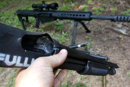 Shotting Down a Shotgun Barrel