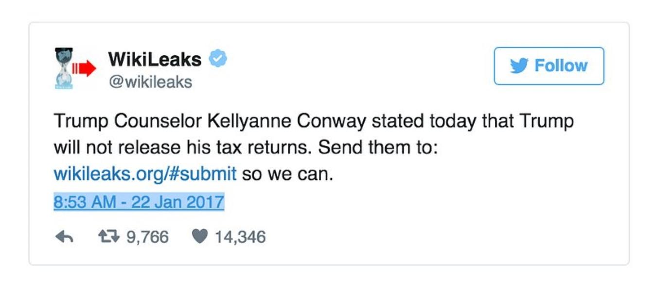 Trump Wikileaks