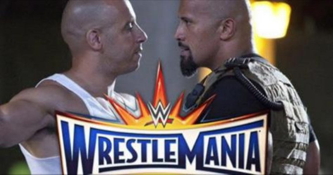 Vin Diesel To Fight The Rock At Wrestlemania