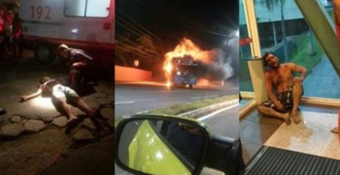 Real Life 'Purge' Down In Brazil    Mass Murders, Rapes And