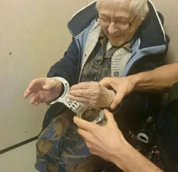 Old Lady Arrested Bucket List