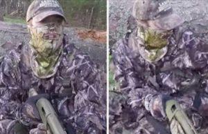 Turkey Hunter Shot