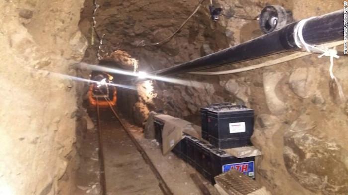 Drug Tunnel 1