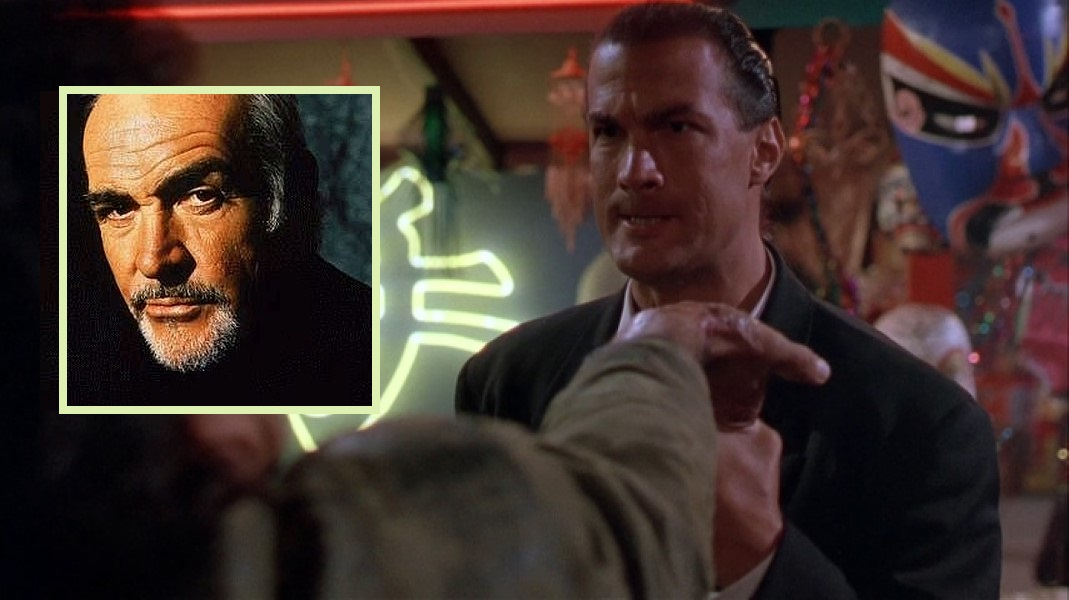 Steven Seagal Broke Ex-007 Sean Connery's Wrist! - Thug ...