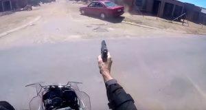 Bike Cops Shoots Thugs