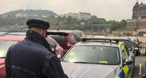 Police Get Ticket (