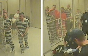 Inmates save jailer's life